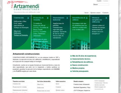 Construcciones Artzamendi