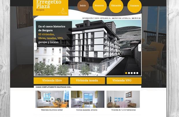Web Erregetxo plaza