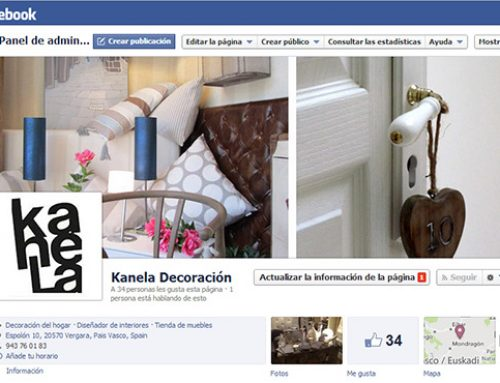 Kanela decoración en facebook
