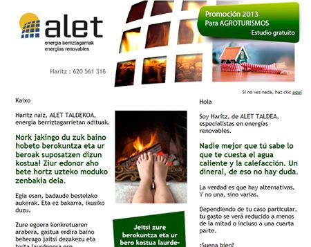 Alet-Taldea mailing